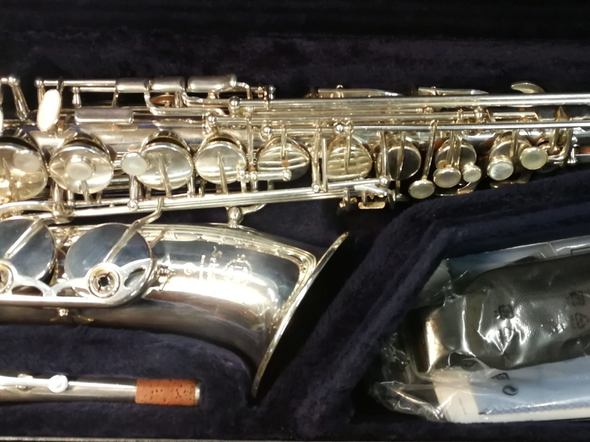 Alt Saxophon M VII silver