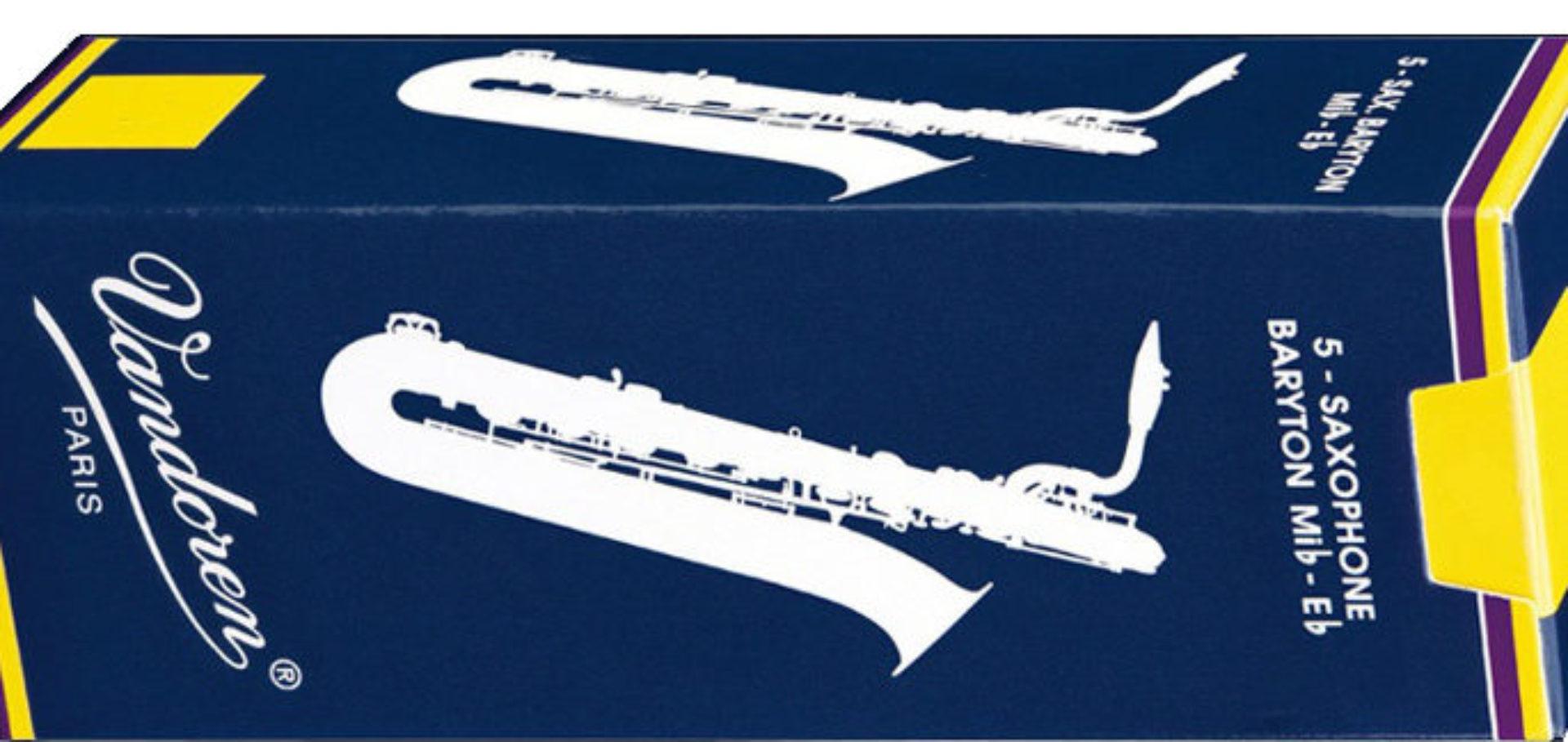 Vandoren Classic Blue Bari Saxofon Reeds